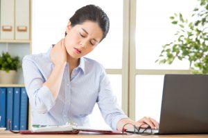 farlige nakkesmerter er starter vanligvis ikke på kontoret